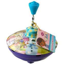 Doc McStuffins Metal Spin Top with hangtag in PDQ