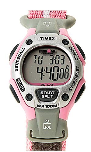 Timex Women's T5H471 Ironman Traditional 30-Lap Pink Fast Wrap Strap Watch: Timex: Watches