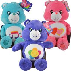 "Just Play- Care Bear 10.5"" Medium Plush with hangtag and seat pkg Asstd."