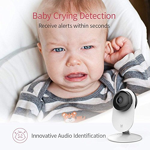 YI 1080p Home Camera, Indoor 2 4G IP Security Surveillance System with  Night Vision for Home/Office / Baby/Nanny / Pet Monitor with iOS, Android  App -