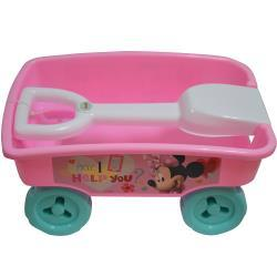 Minnie Play Wagon with detachable shovel for handle