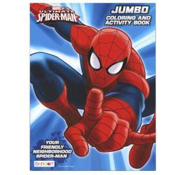 Spiderman Jumbo Coloring Book 96 pg