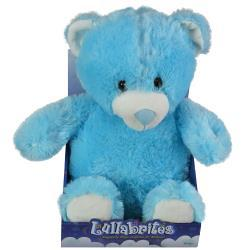 "Lullabrites 12"" Blue Bear in Box "" As Seen On TV"""