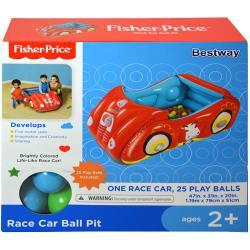 Fisher Price Inflatable Race Car Ball Pit