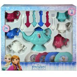 Jakks- Frozen 26pc Dinnerware Set