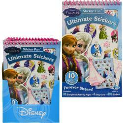 Disney Frozen Sticker Fun Activity in Display