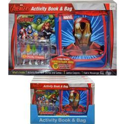 Marvel Take-Along Activity Book & Bag