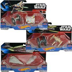 Mattel Hot Wheels Star Wars Starship 2pk Assorted