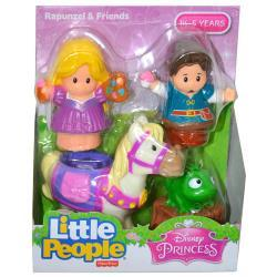 Fisher-Price Little People Disney Princess Rapunzel and Friends