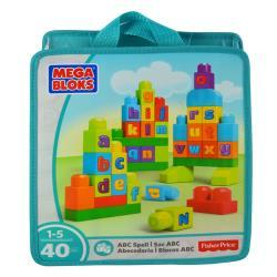 Mattel Mega Bloks First Builders ABC Spell DCC