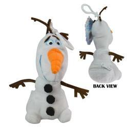 "Frozen, Olaf 8"" Plush Zipper Pull"