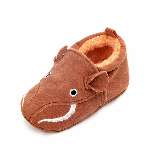 High quality nubuck material cow design newborn baby shoes infant shoes