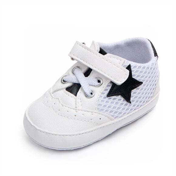 Hot selling mesh air sport unisex baby shoes prewalker shoes