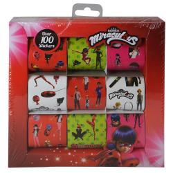 Miraculous Ladybug 9 Roll Sticker Box