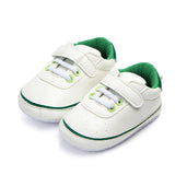 New arrival high quality soft leather hook&loop unisex baby shoes baby sneakers