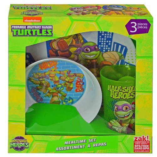 TMNT Half Shell Hero 3pc Window Box Set