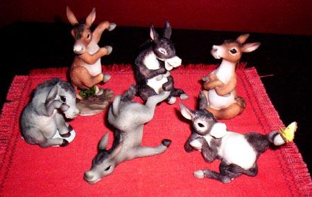 Donkeys Party of Six