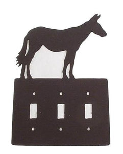 Metal Switchplate - Mule Triple