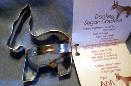 Cookie Cutter - donkey shape