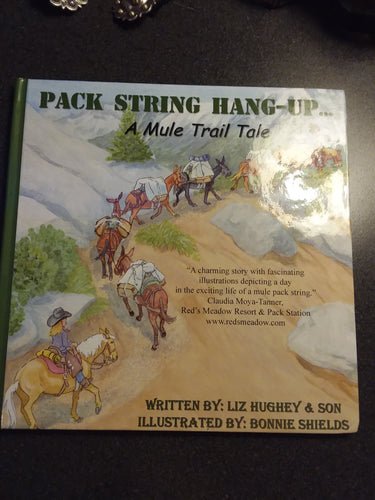 Book - Pack String Hang-Up