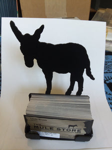 Metal Business Card Holder - Donkey