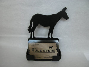 Metal Business Card Holder -Full Mule