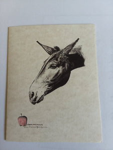 Cards - Mule with Apple