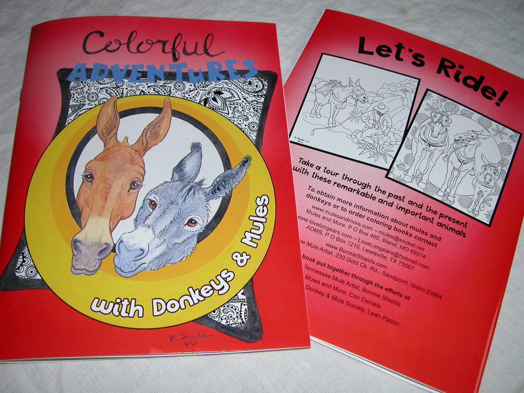 Coloring Book by Bonnie Shields