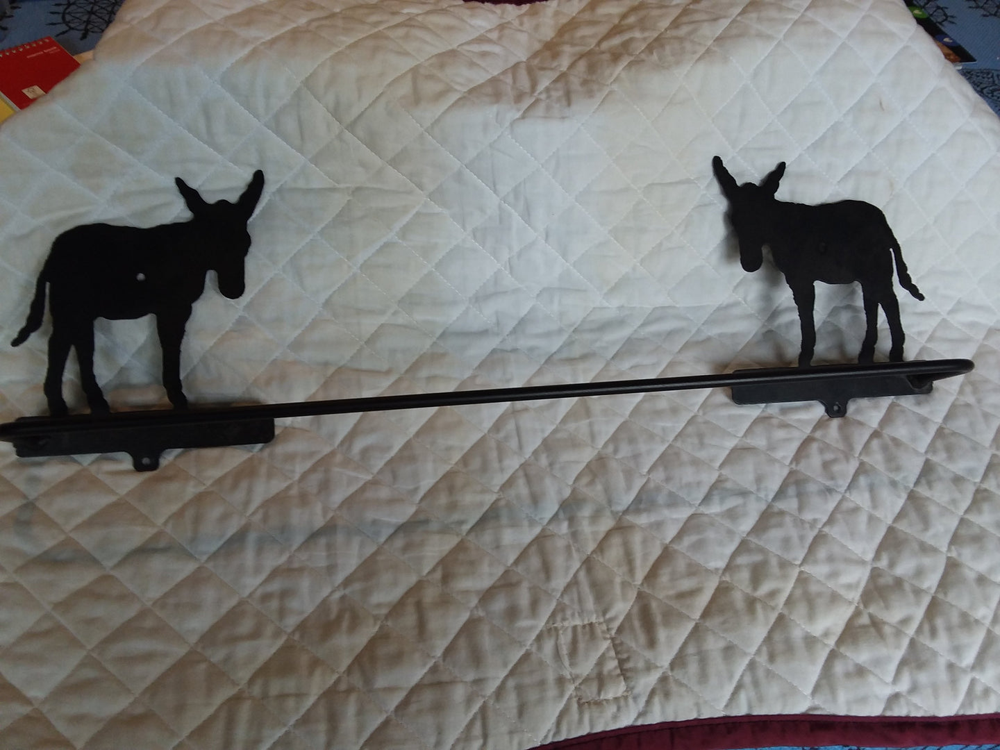 Metal Towel Bar - Donkey