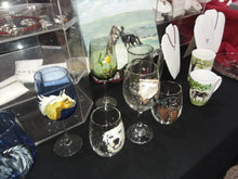 Load image into Gallery viewer, Wine Glasses - Hand Painted