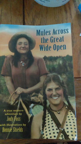 Book - Mules across the wide open