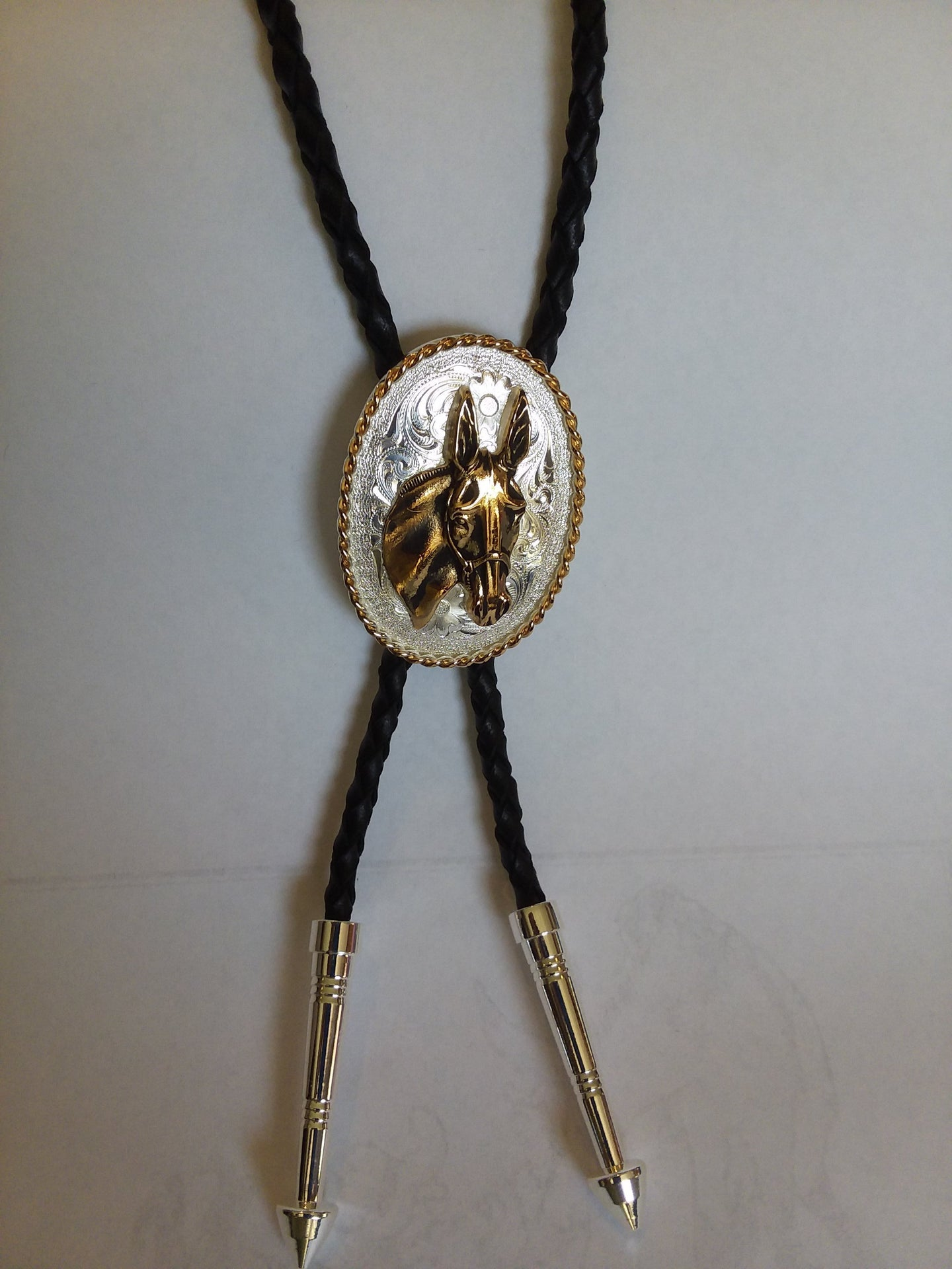 Jewelry - Bolo Tie with Mule Head