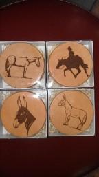 Coaster - Leather Coaster Sets