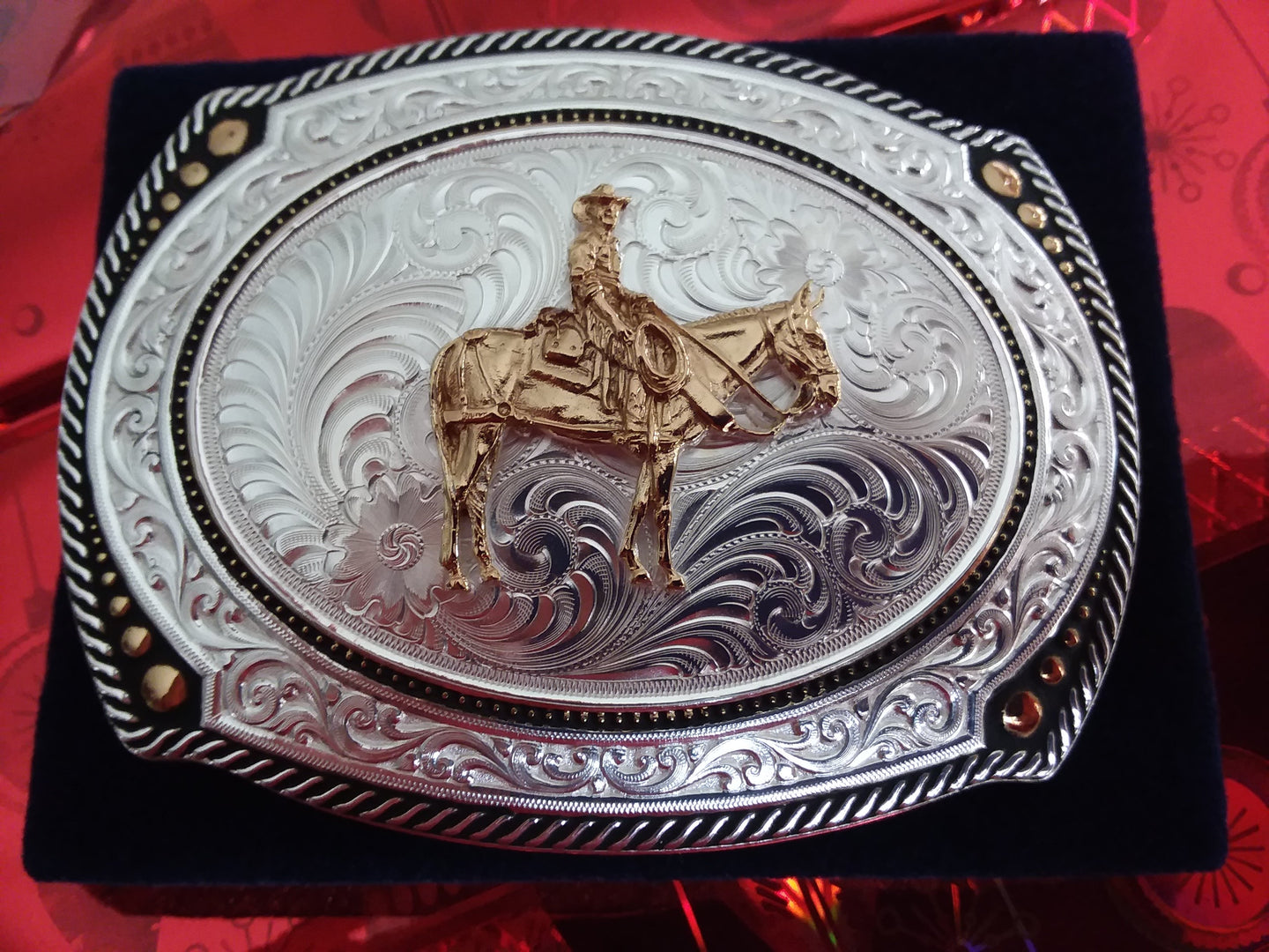Jewelry - Montana Silver Belt Buckle