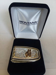 Jewelry - Montana Silversmith - Money Clip with Mule Head