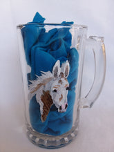 Load image into Gallery viewer, Glass Beer Mug - Hand Painted