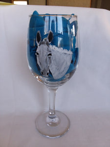 Beverage Glasses - Hand Painted