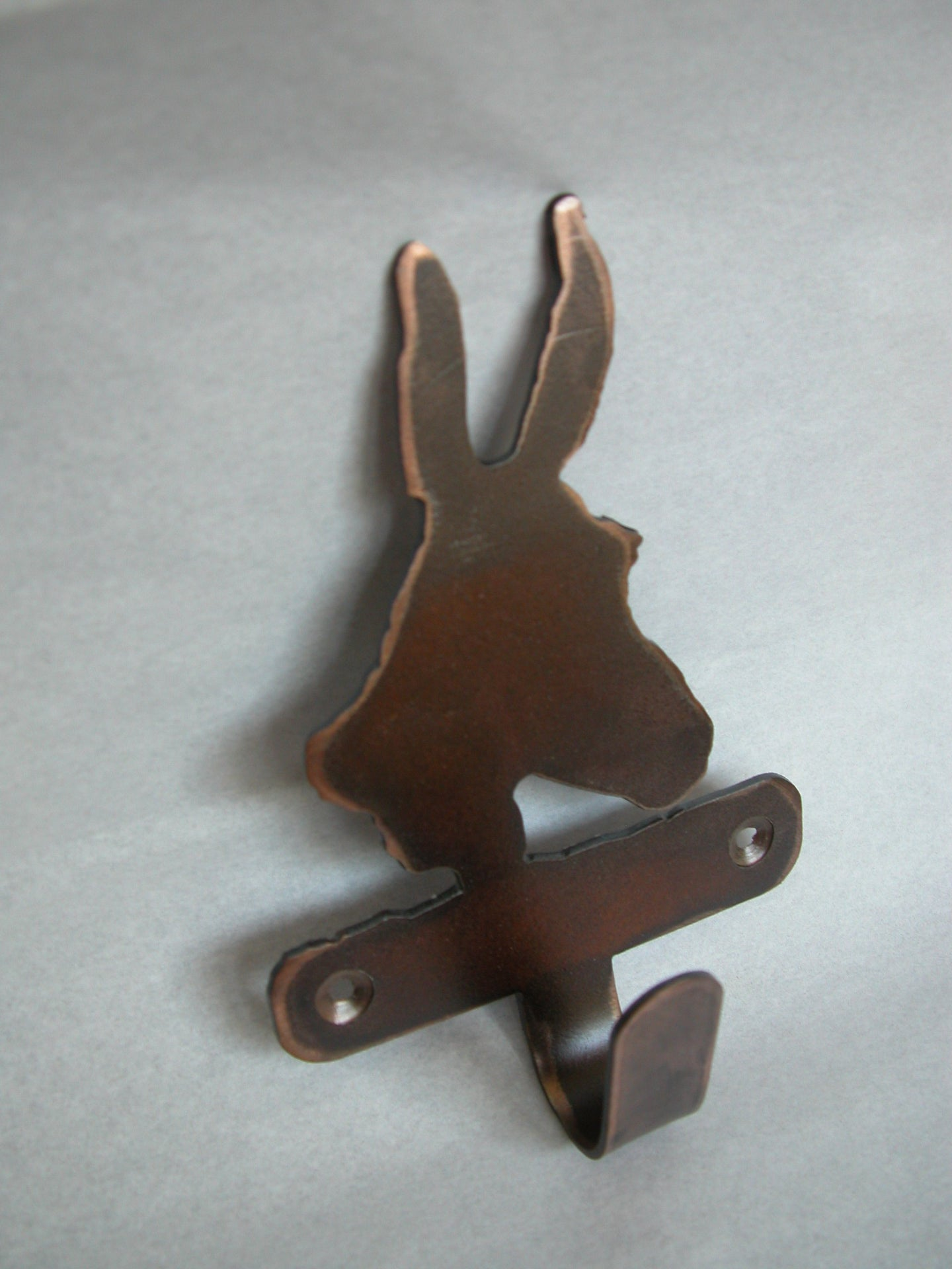 Metal wall hook - Mule Head single hook