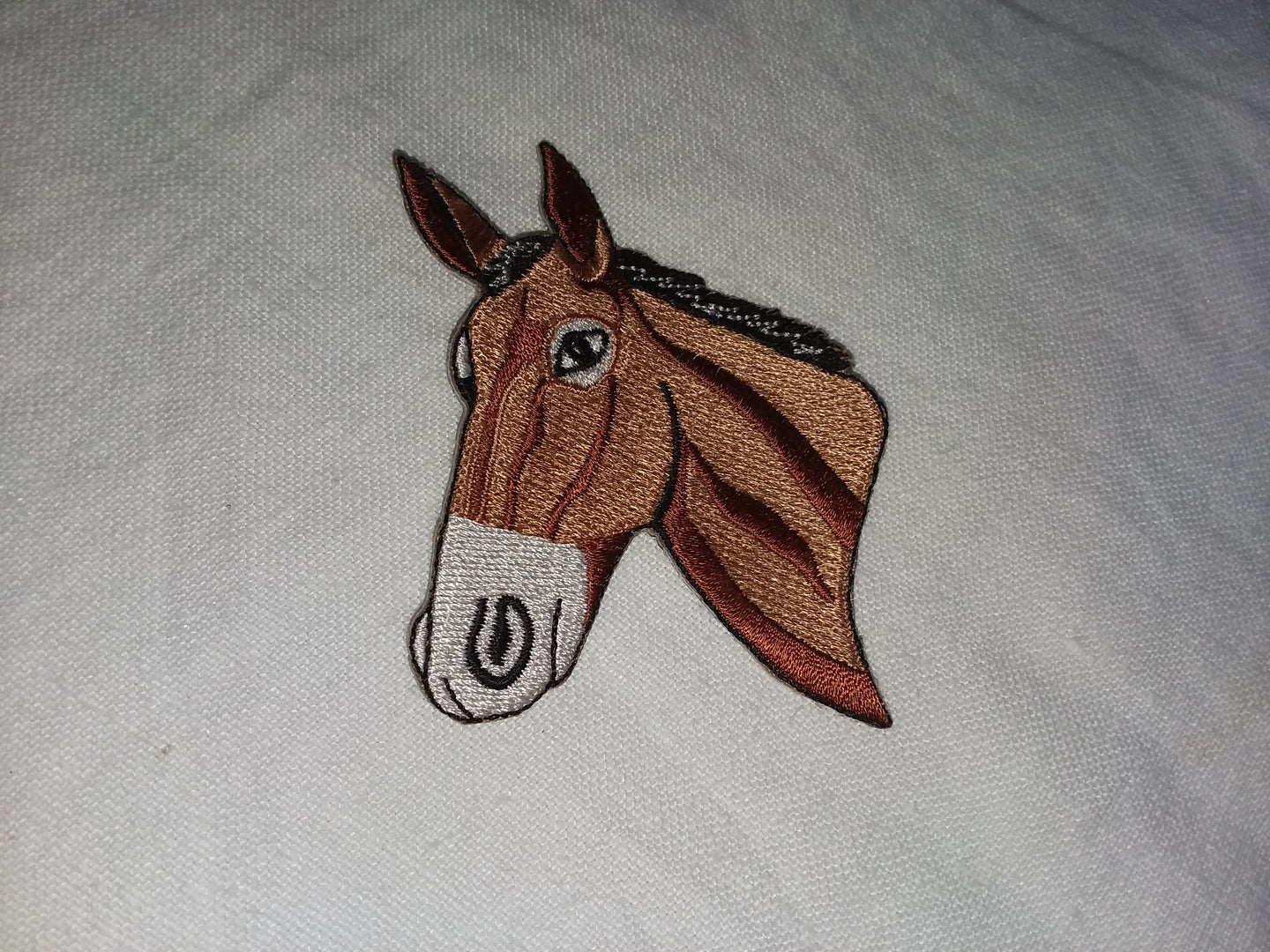 Iron On Patch - Mule head