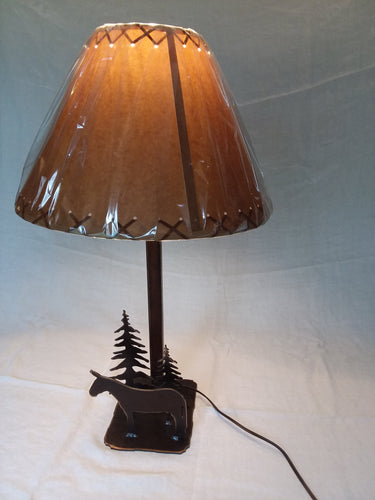 Metal - Table Lamp - Standing Mule