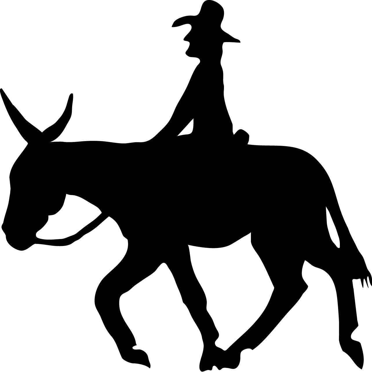 Decal - Donkey Riding