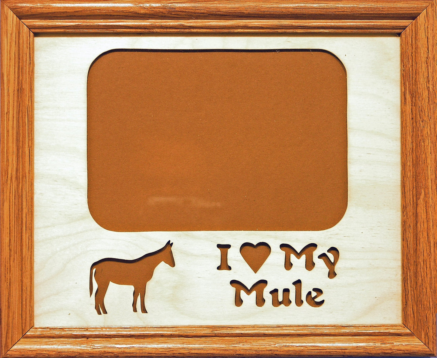 Picture Frame - I Love My Mule Frame