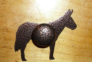 Metal - Drawer Pull - Mule