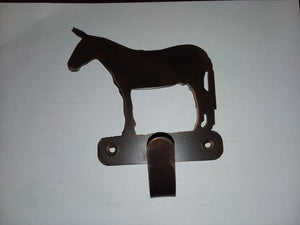 Metal - Standing Mule single hook
