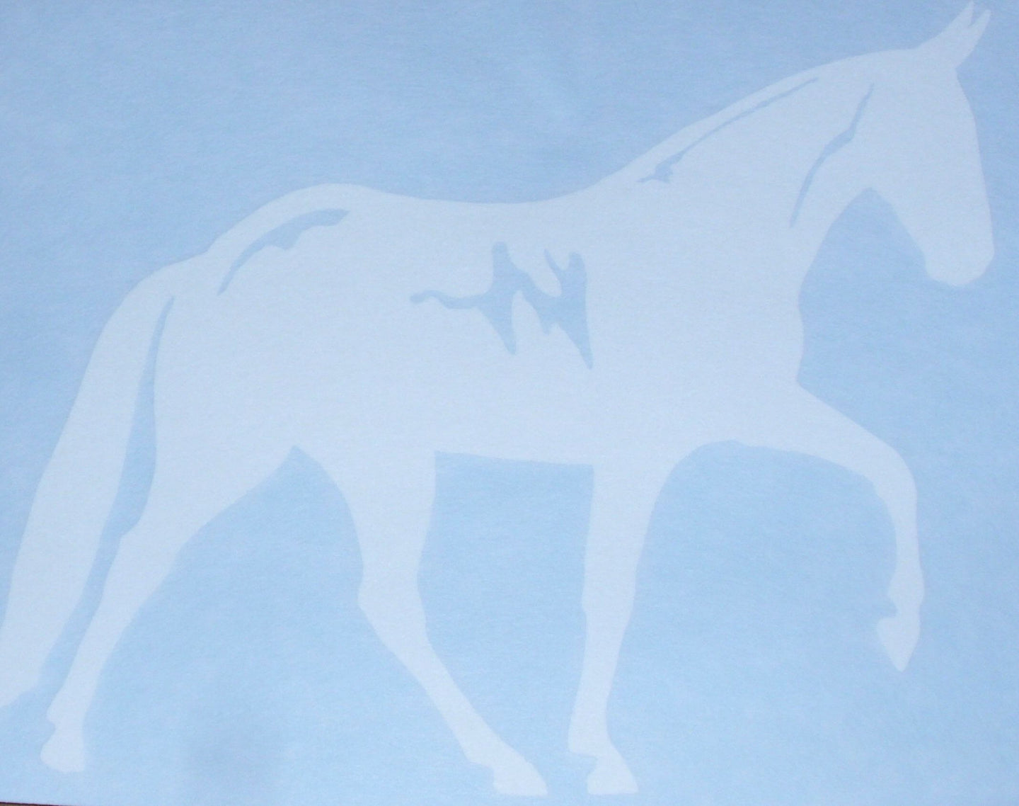 Decal - Gaited Mule