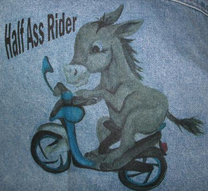 Denim Jacket - Half Ass Riders