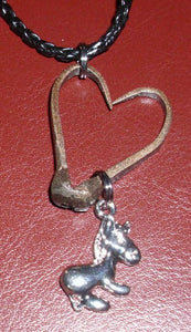 Jewelry - Necklace - Donkey Heart Necklace