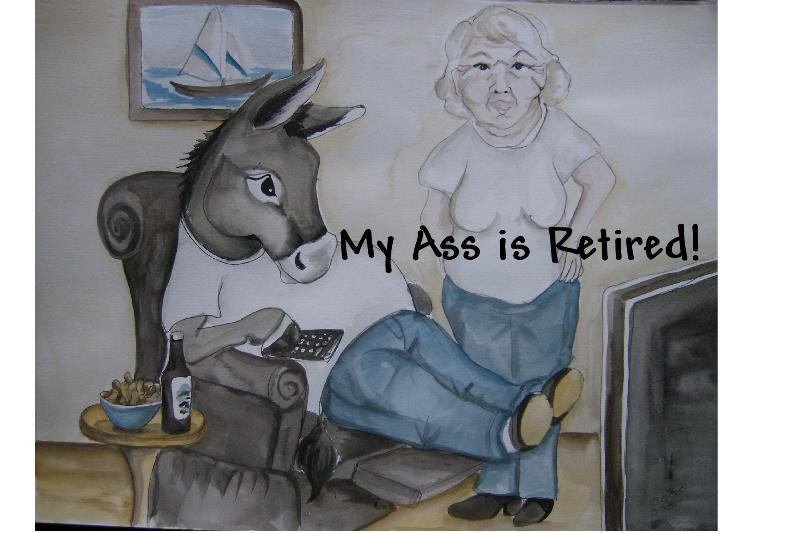 Mug - My Ass Is Retired