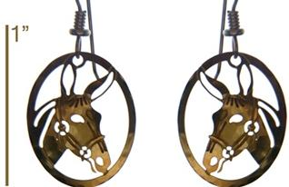 Jewelry - Earings - Gold Mule Earrings