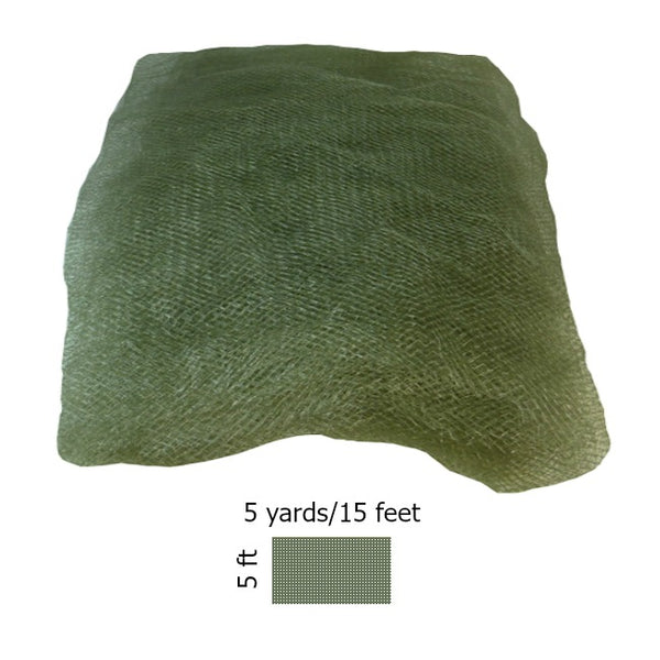 GI-Style 5 ft-Wide Mosquito Netting - Olive Drab